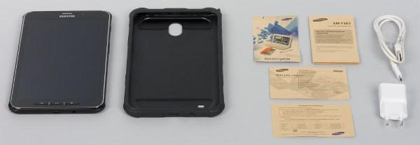 Комплектация планшета Samsung Galaxy Tab Active