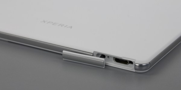 Дизайн планшета Sony Xperia Z3 Tablet Compact