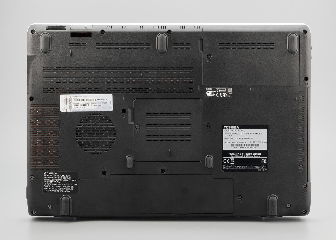 Toshiba qosmio f750 с 3d экраном работающим без