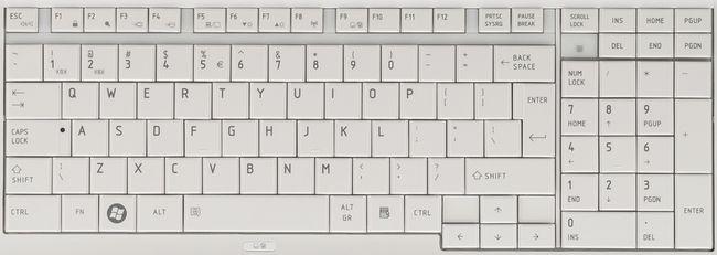 клавиатура будет другой,