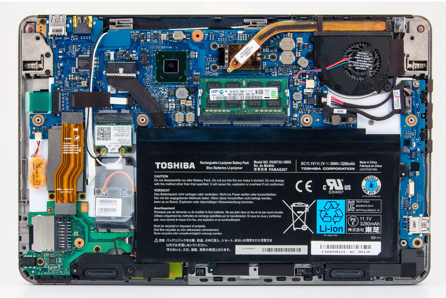 Toshiba Satellite U920T-F Treiber