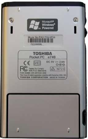 Toshiba e740