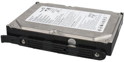 Cooler Master HAF XB EVO: накладки для установки накопителей в корзину