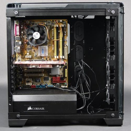 Вид в сборе корпуса Corsair Crystal Series 570X RGB