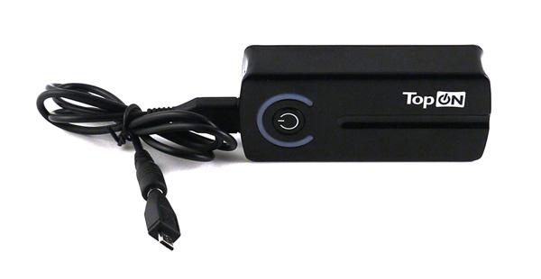 Внешняя батарея Top-Mini: подключение нагрузок