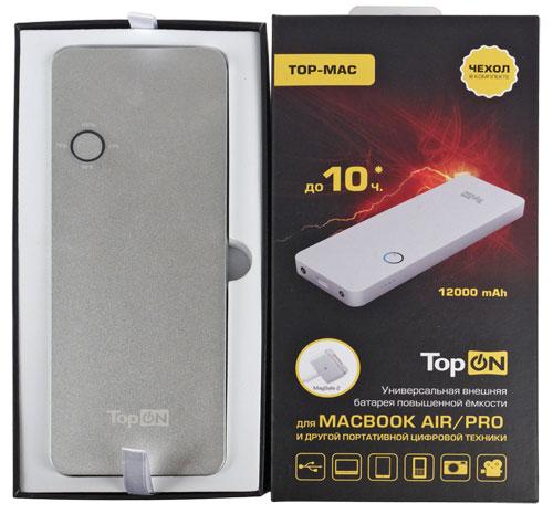 Блок питания TopON TOP-AS65 19V 3.42A (4.0x1.35mm) 65W для ASUS Zenbook UX50 / Prime UX32 / VivoBook X201/Q200 / TaiChi 31 Series