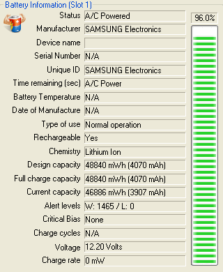 Аккумулятор Samsung AA-PB9NC6B