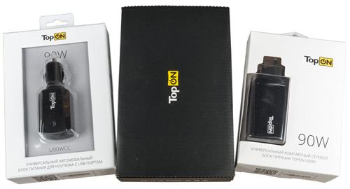 Источники питания TopON для мобильных устройств