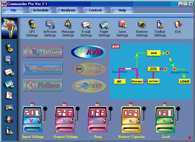 500 схема ups ippon back
