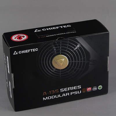 Упаковка блока питания Chieftec APS-550CB