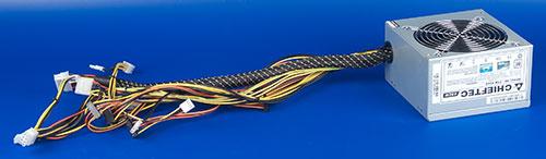 Провода и разъемы блока питания Chieftec CTB-650S