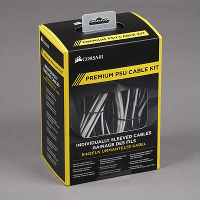 Premium Individually Sleeved PSU Cable Kit Pro Package
