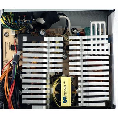 Принципиальная схема исходного БП ATX Защитаот КЗ и запуск электронных трансформаторов без нагрузки.