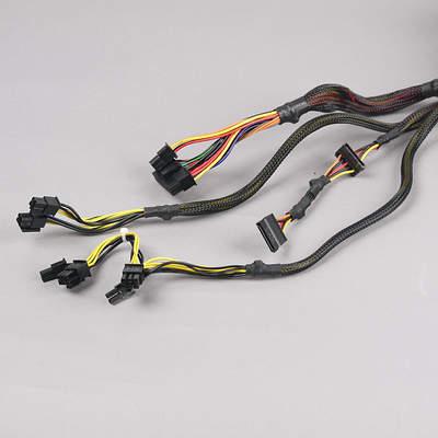 Провода и разъемы блока питания Fractal Design Integra SFX 450W (FSP450-60GHS(85))