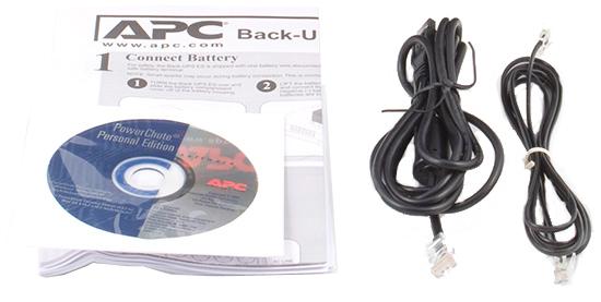 комплект поставки APC Back-UPS ES 700.