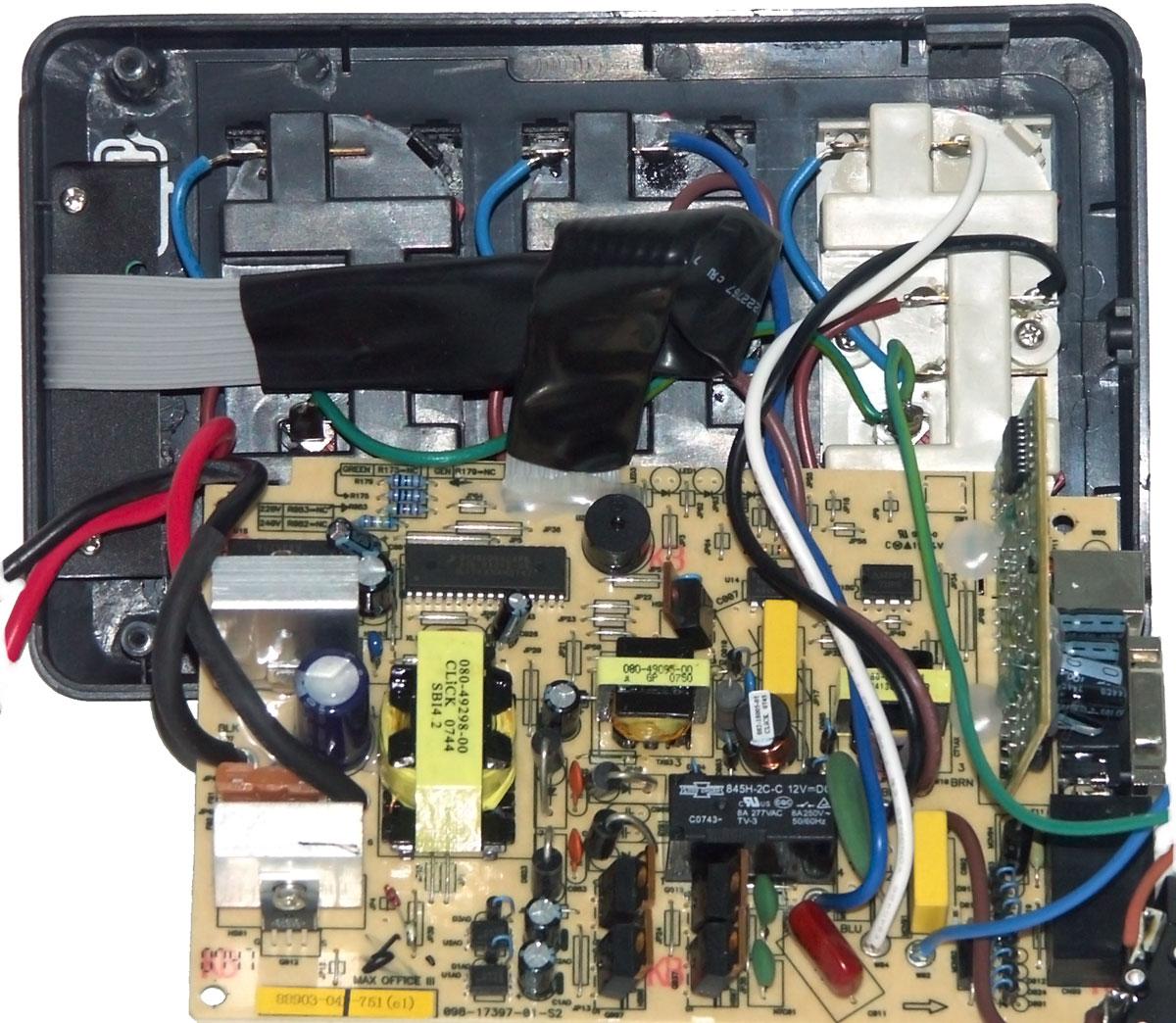 gresso atx 380w электрическая схема