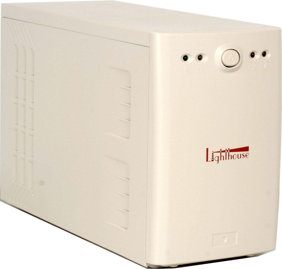 Сегодня мы познакомимся с источником бесперебойного питания линейно-интерактивного типа Lighthouse Pro 1000.