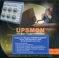 программное обеспечение UPSMON Plus из комплекта ИБП PCM IMD-1200AP