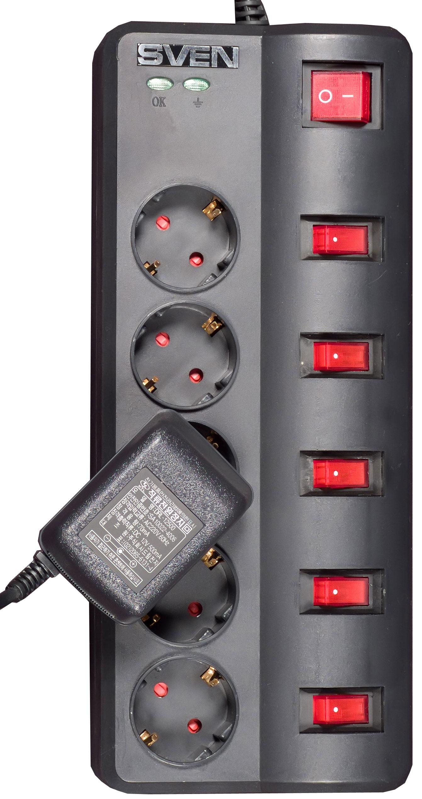 схема подключения индикатора в сетевом выключателе