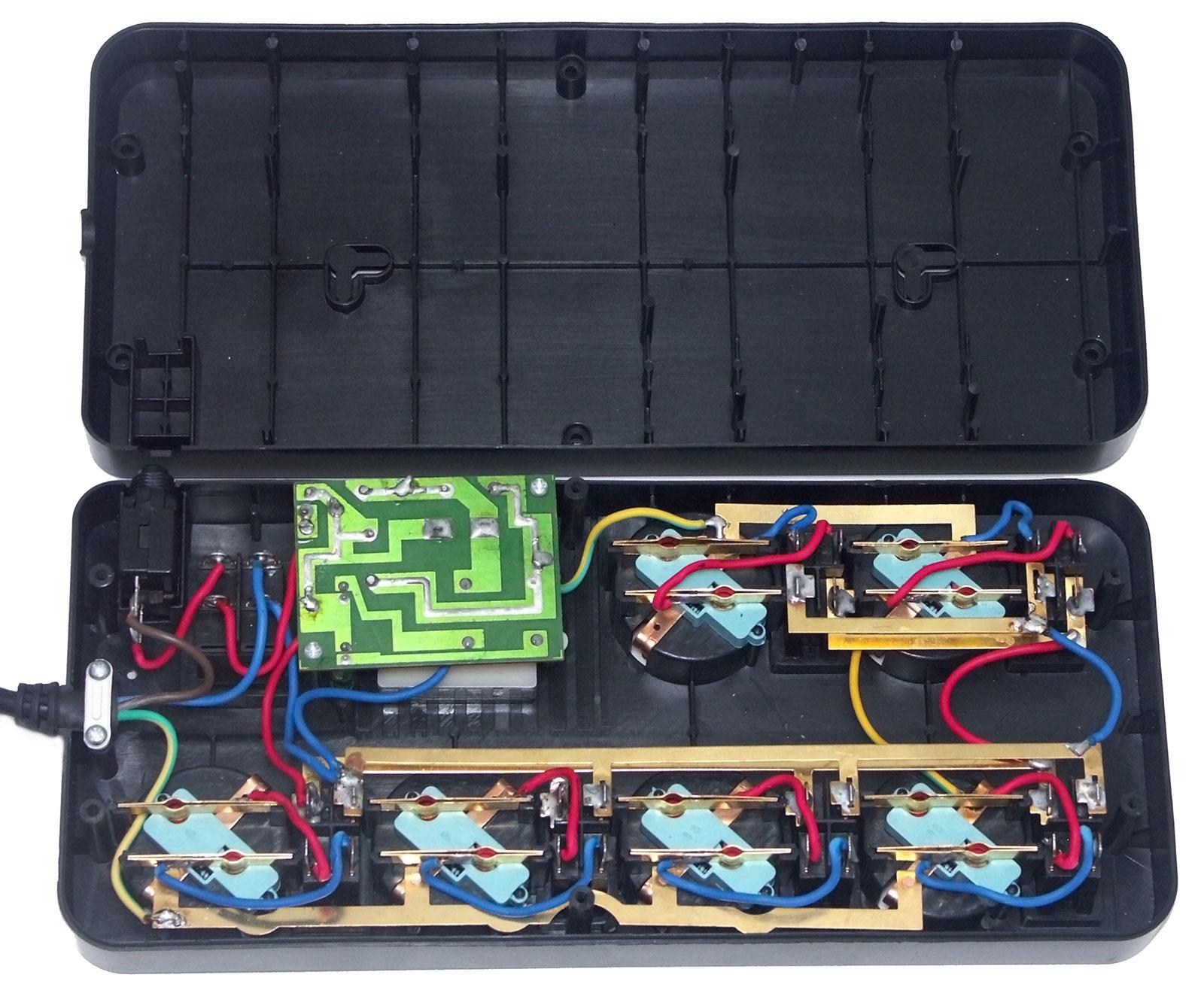 схема сетевого фильтра эленберг esf-0304g