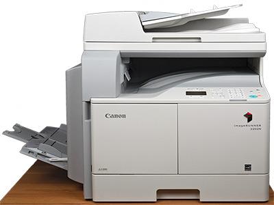 Canon iR2202N, внешний вид