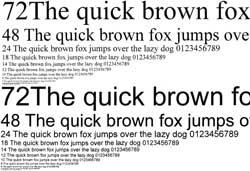 Текстовый образец, качество Текст