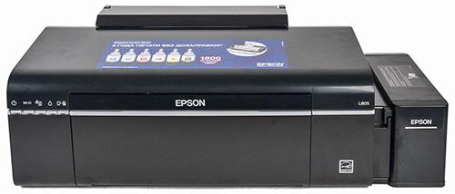 Принтер Epson L805, внешний вид