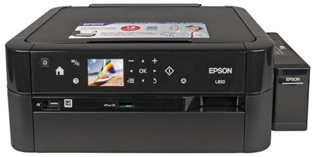 Фотоцентр Epson L850, внешний вид