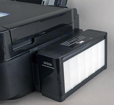 Принтер Epson L850, контейнеры с чернилами