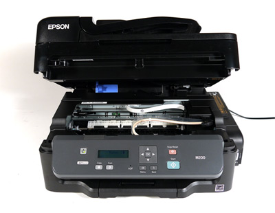 Epson WorkForce M200, вид на механизм