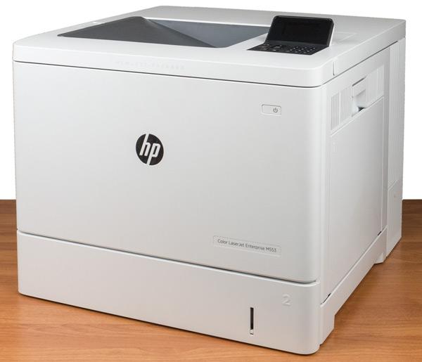 Принтер HP Color LaserJet Enterprise M553dn, внешний вид