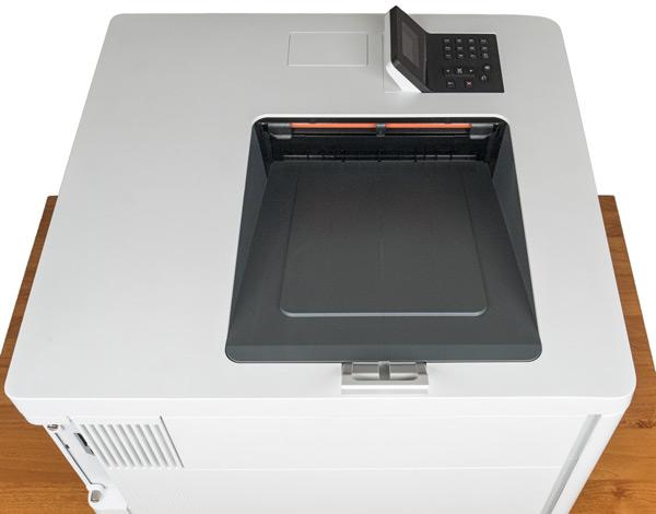 HP Color LaserJet Enterprise M553dn, приемный лоток