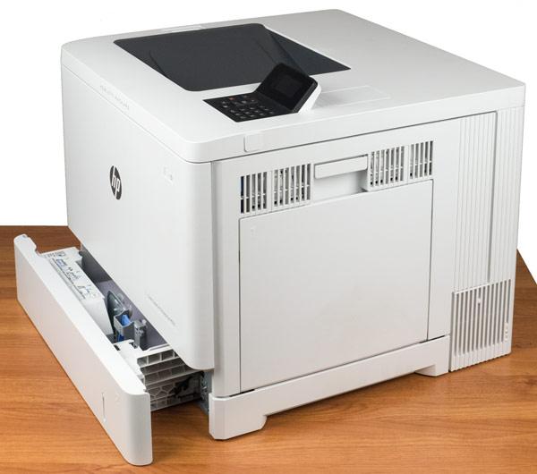HP Color LaserJet Enterprise M553dn, внешний вид