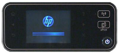 Hewlett-Packard Deskjet Ink Advantage 5525, панель управления