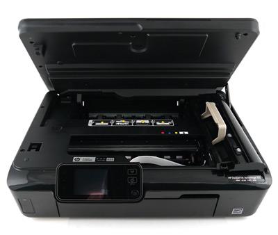 HP Deskjet Ink Advantage 5525, извлечение застрявшей бумаги