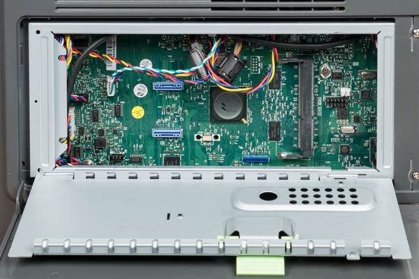 Lexmark MS610de, плата контроллера