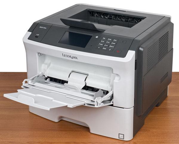 Lexmark MS610de, лотки