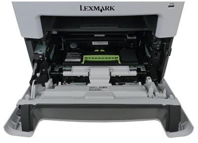 Lexmark MX410de, доступ к картриджам