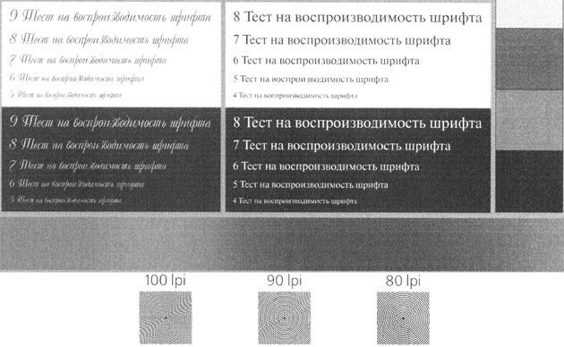 МФУ Panasonic KX-MB2571, образцы печати