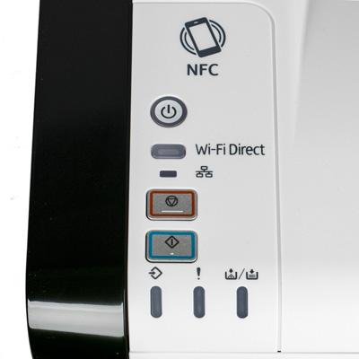 Ricoh SP 220Nw, панель управления