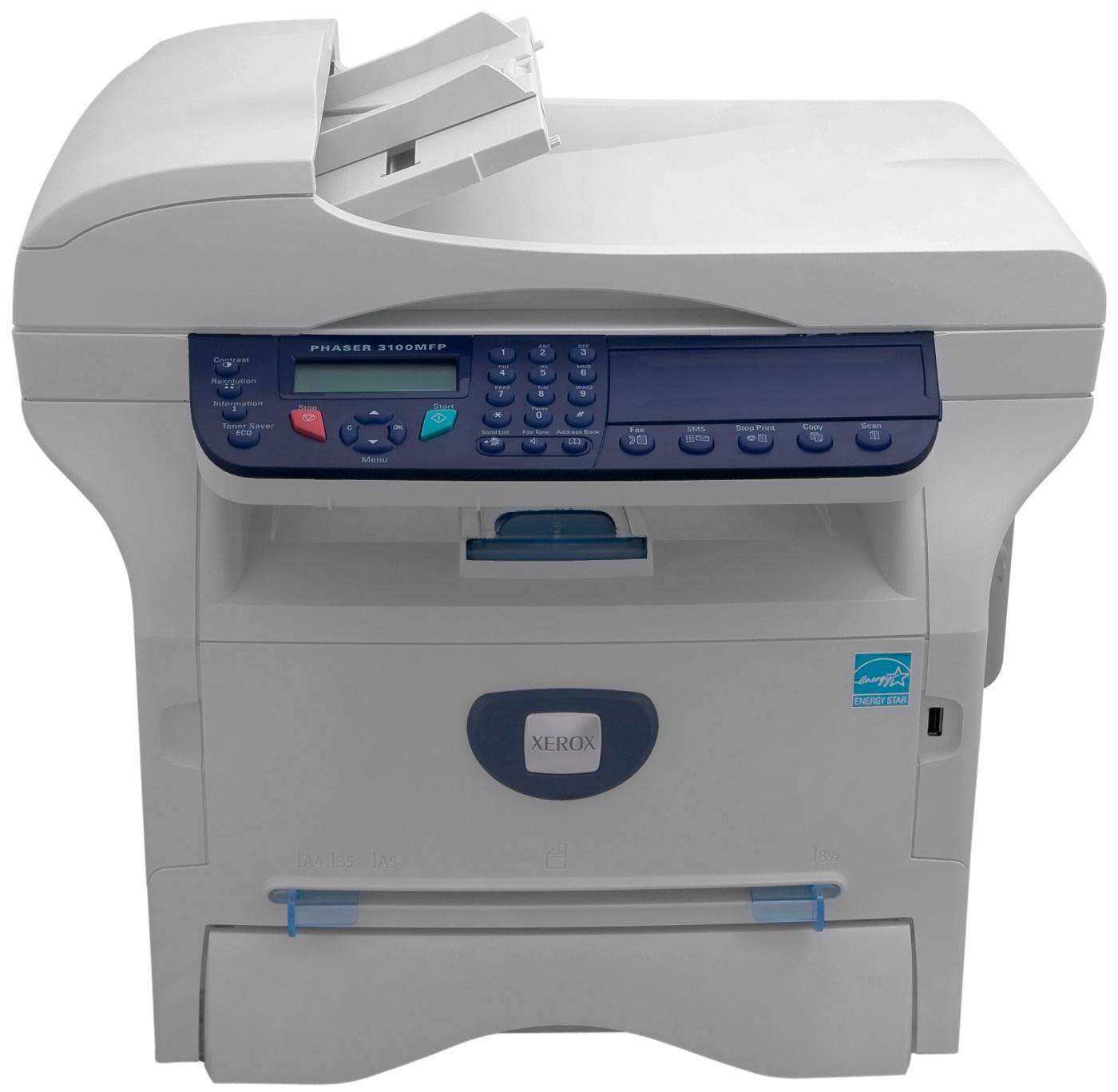 Xerox phaser 3100 mfp сканер драйвер скачать