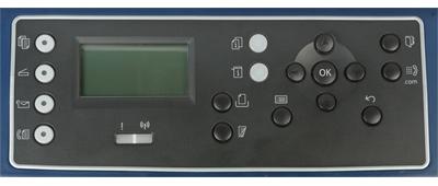 МФУ Xerox WC3325DNI, панель управления