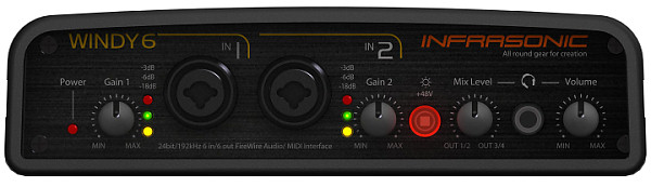 Infrasonic Windy6 Firewire Recording Drivers Windows