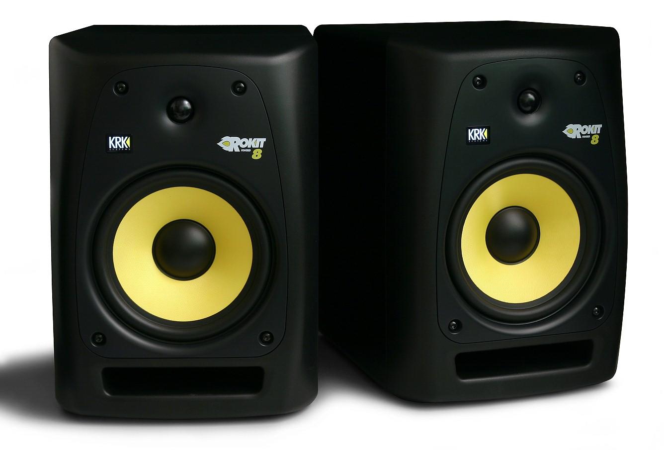 ROKiT: SOLD KRK Rp8 G2 Studio Monitors
