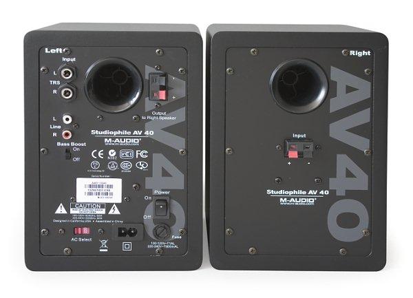 M Audio Studiophile Av40 Active Stereo Speakers