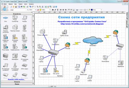 Программа «10-Страйк: Схема