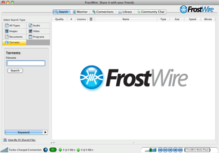 �������� �������� ���� FrostWire