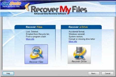 ������� ���� Recover My Files
