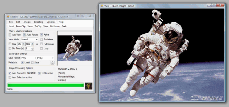 Скриншот окна SView5