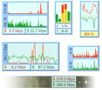 Элементы интерфейса DU Meter